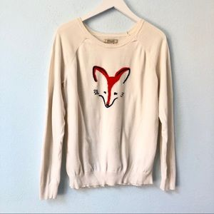G.H. Bass & Co. Fox graphic pullover sweater